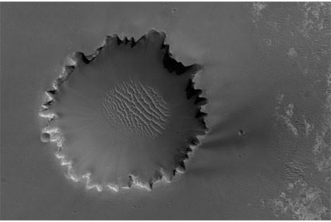 Marsın görülmemiş fotoğrafları