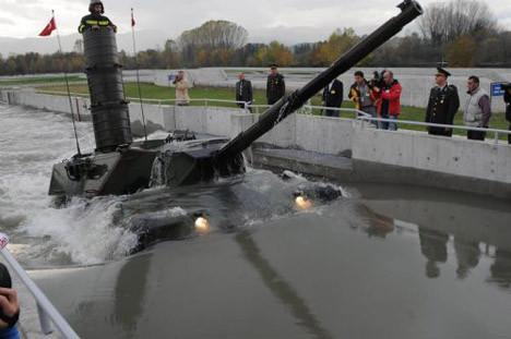 Son Leopard-1 Tank teslim edildi