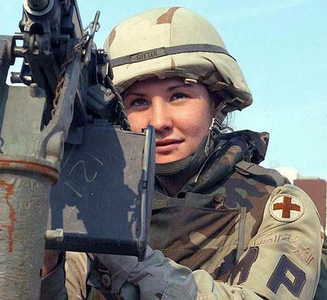 ABD in kadın askerleri
