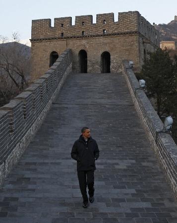 Obama ın Çin ziyaretinden kareler