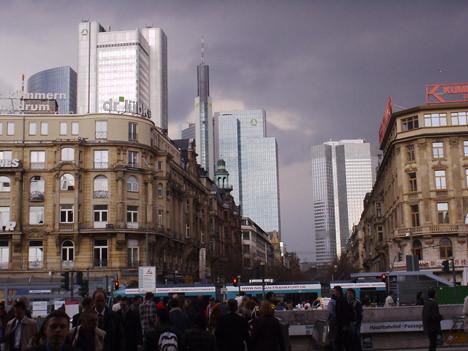 Havadan Frankfurt ve İstanbul