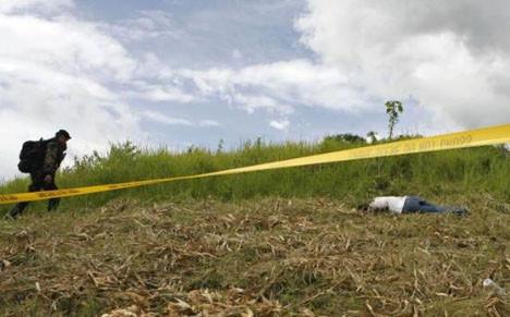 Filipinlerde katliam !