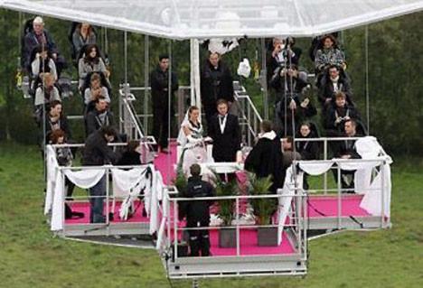 En ilginç evlilik törenleri