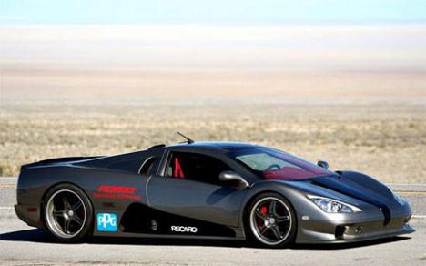 Dünyanın en hızlı arabası