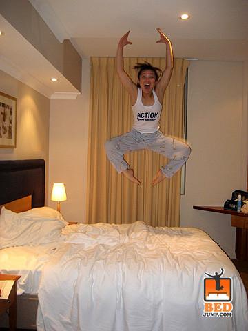 Yatakta zıplama modası