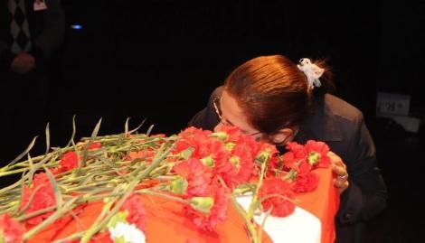 Halil Ayanın cenazesi