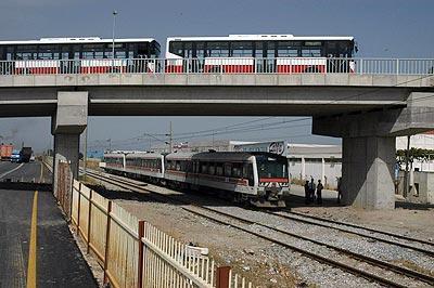İzmirde metro inşaatına devam