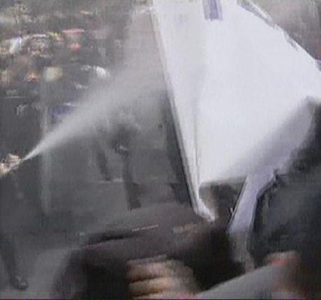 İtfaiyecilere polis müdahalesi