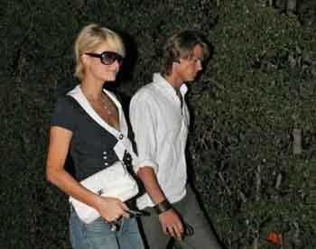 Paris Hilton yeni sevgilisiyle yakalandı