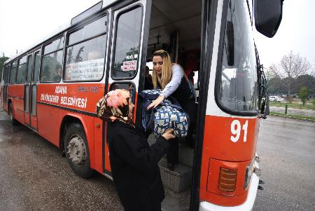 Otobüs şoförü Arzu un bir günü