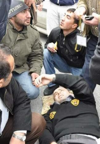 İstanbulda kanlı soygun !