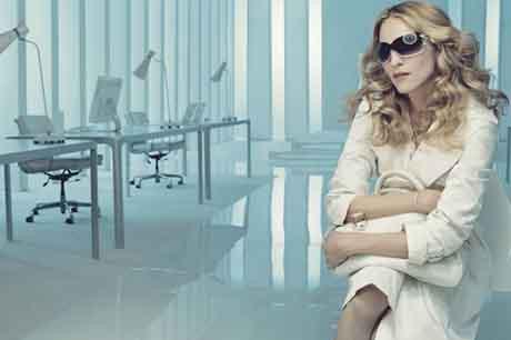 Müziğin divası Madonna