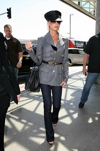 Victoria Beckhamdan tek kişilik defile...