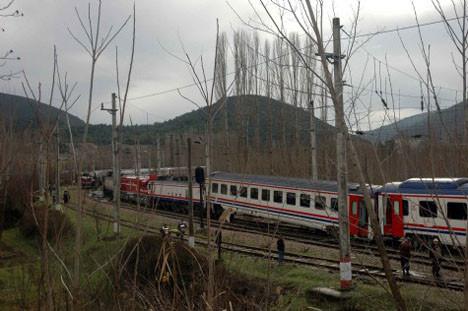 Bilecike tren kazası
