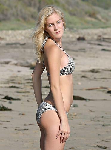 Heidi Montag bikiniyle şöhret oldu
