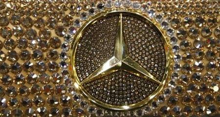Bu Mercedes göz kamaştırıyor