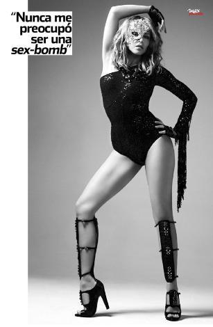 Kylie Minogue nefesleri kesti