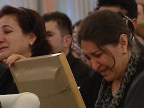 Çankayada gözyaşları..
