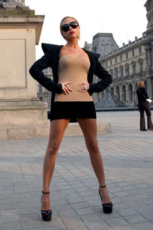 Victoria Beckham dergi çekiminde