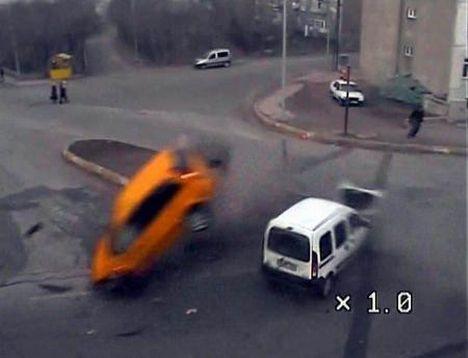 Kazaların böylesi...