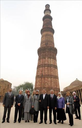 Abdullah Gül Hindistanda