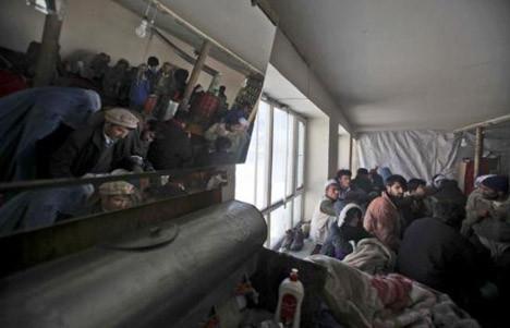 Afganistanda çığ felaketi