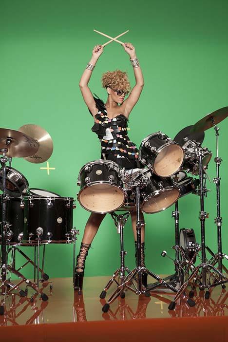 Bu da sambacı Rihanna