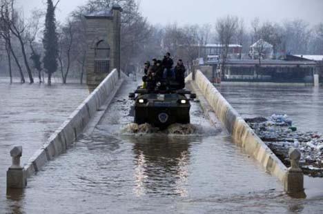 Edirne sular altında kaldı