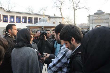 Eyüp Camii de dua etti