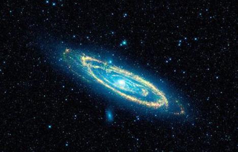 Uzay mekiği WISEdan ilk görüntüler