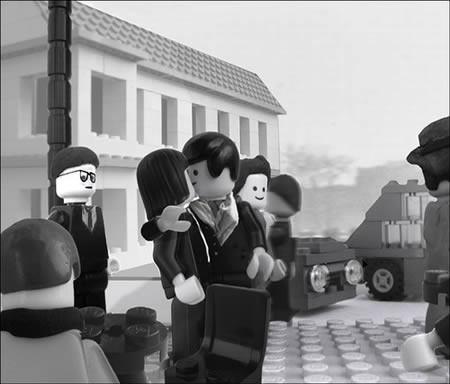 En gerçekçi Lego heykelleri