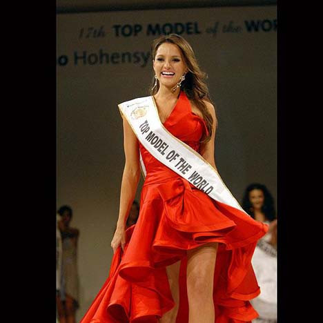 Top Model of the Worldun birincisi oldu
