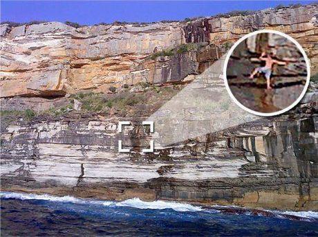 Genç turist, uçurumda sızınca..
