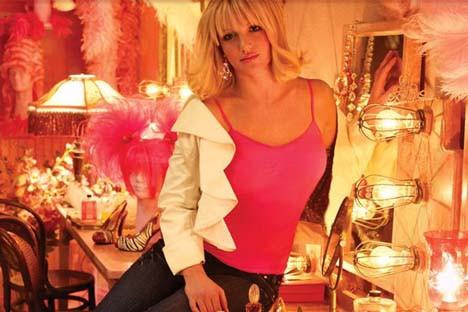 Britney kamera karşısında
