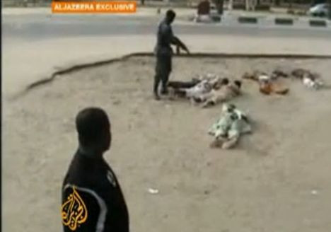 Sokak ortasında infaz ettiler