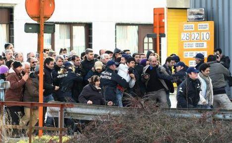 PKKlıların Belçikadaki Roj kavgası