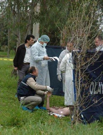 Kampüste ceset bulundu