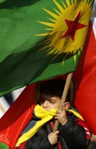 PKK yandaşları olay çıkardı