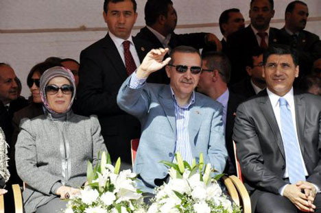 Başbakan Urfada böyle karşılandı