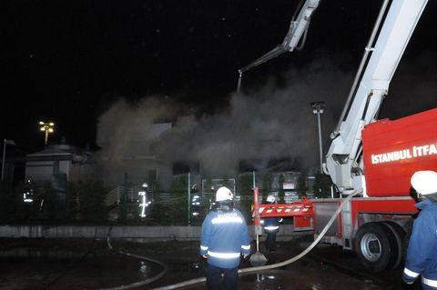 Atatürk Havalimanı da yangın çıktı