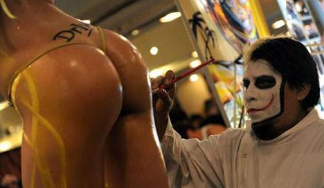 Arjantinde dövme fuarı yapıldı