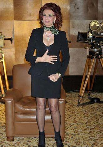 Sophia Loren 75 yaşında ama...
