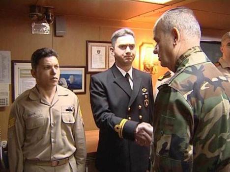 Komutanlar İstanbuldaki tatbikatı izledi