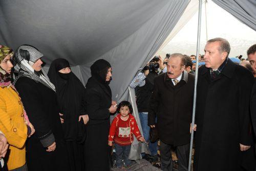 Erdoğan, komutana teşekkür etti