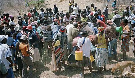 İşte açlığın fotoğrafı
