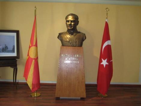 Atatürk Makedonyada anıldı