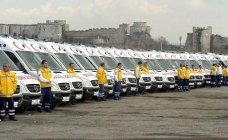 İstanbul için 75 yeni ambulans