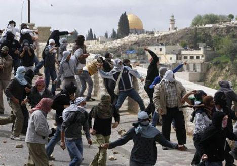Doğu Kudüse çatışma çıktı!