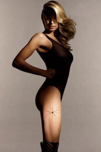 Heidi Klumdan ilginç pozlar