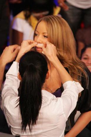 Mariah Carey canlı yayında ağda yaptırdı